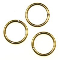 Trinity Brass Antique Gold Jump Ring 11.5mm x1
