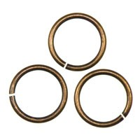 Trinity Brass Vintage Patina Jump Ring 11.5mm x1