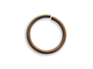 Vintaj Natural Brass 15mm Jump Ring x1