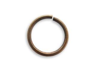 Vintaj Natural Brass 15mm Jump Ring x1