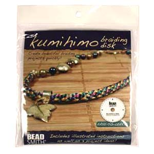 Beadsmith Kumihimo 6 inch Round Disk (with instruction)