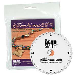 Beadsmith Kumihimo 4.25 inch Round Disk (with instruction)