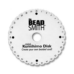 Beadsmith Kumihimo 4.25 inch Round Disk