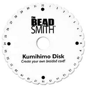 Beadsmith Kumihimo 6 inch Round Disk