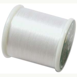 KO Beading Thread, White, 50m, 55 yds