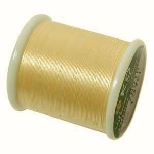 KO Beading Thread, Yellow, 50m, 55 yds