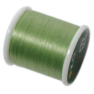 KO Beading Thread, Apple Green, 50m, 55 yds