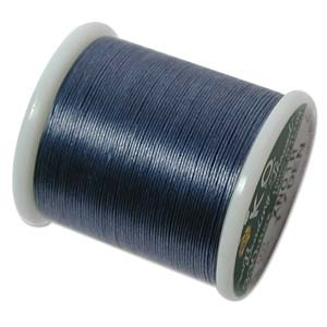 KO Beading Thread, Denim Blue, 50m, 55 yds