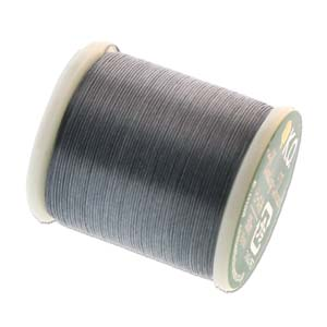 KO Beading Thread, Dark Grey, 50m, 55 yds