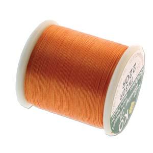 KO Beading Thread, Orange, 50m, 55 yds