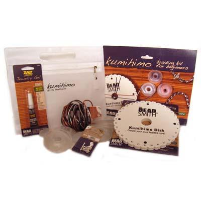 Beadsmith, Round Plate Kumihimo Braiding Kit, Starter Pack