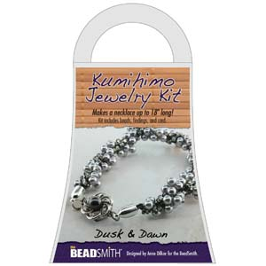 Beadsmith Kumihimo Jewellery Kit - Dusk & Dawn