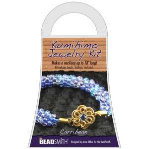 Beadsmith Kumihimo Jewellery Kit - Caribbean