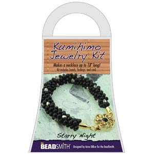 Beadsmith Kumihimo Jewellery Kit - Starry Night