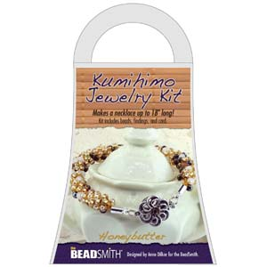 Beadsmith Kumihimo Jewellery Kit - Honey Butter