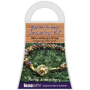 Beadsmith Kumihimo Jewellery Kit - Petite Wheatberry
