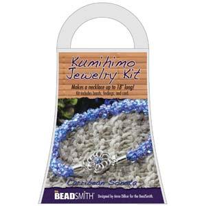 Beadsmith Kumihimo Jewellery Kit - Caribbean Sonata