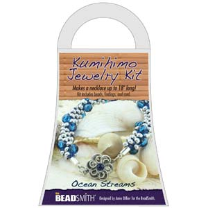 Beadsmith Kumihimo Jewellery Kit - Ocean Streams