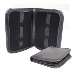 Beadsmith 6 Band Black Leatherette Storage Case 19x14cm