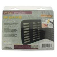 Gothic Alphabet Upper Case Letter 8mm Stamping Set - Beadsmith