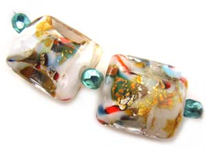 Mayfair Set Ian Williams Artisan Glass Lampwork Beads
