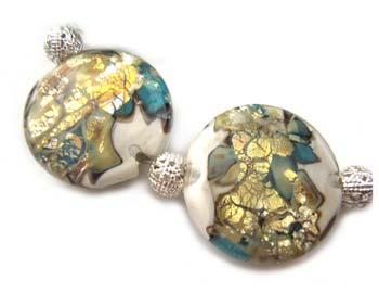 Neptune's Palace Set Ian Williams Artisan Glass Lampwork Beads