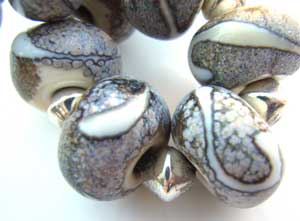 SOLD - Artisan Glass Lampwork Beads ~ Dreaming