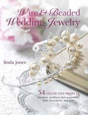 Wire & Beaded Wedding Jewellery - Linda Jones