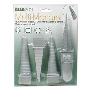 Beadsmith - Muti-Mandrel Wire Mandrel - makes 4 Shapes