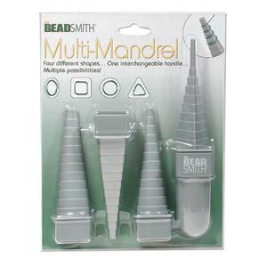 Beadsmith - Muti-Mandrel Wire Mandrel - makes 4 Shapes