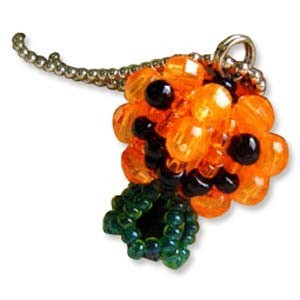 Miyuki Seed Beads - Mascot Fan KIT no. 46 - Halloween Pumpkin