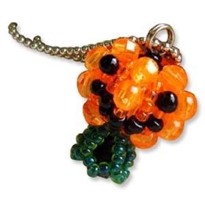 Miyuki Seed Beads - Mascot Fan KIT no. 46 - Halloween Pumpkin