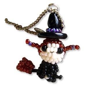 Miyuki Seed Beads - Mascot Fan KIT no. 47 - Halloween Witch