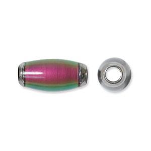 Mirage Mood Beads (Originals) 12x5mm Barrels x1