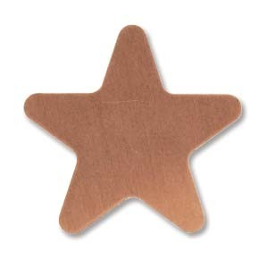 Copper Star 20mm 24g Stamping Blank x1