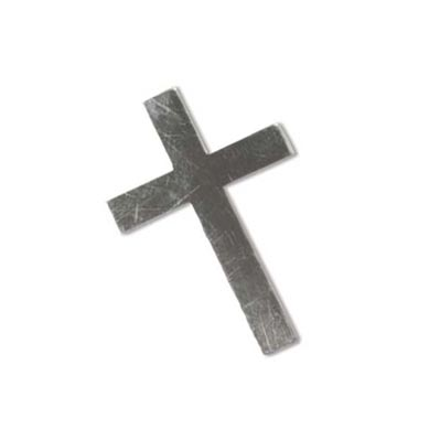 Sterling Silver Cross 30x20mm 24g Stamping Blank x1