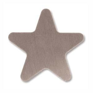 Sterling Silver Star 20mm 24g Stamping Blank x1