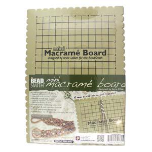 "Beadsmith - Macramé Board Mini 7.5x10.5"""