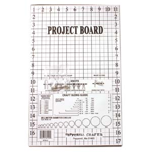 Macramé Project Work Board, Bead Weaving
