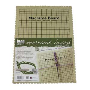 "Beadsmith - Macramé Board 11.5x15.5"""