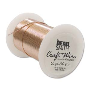 Tarnish Resistant Craft Wire - 15yds Copper - 20g