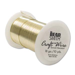 Tarnish Resistant Craft Wire - 10yds Gold - 18g