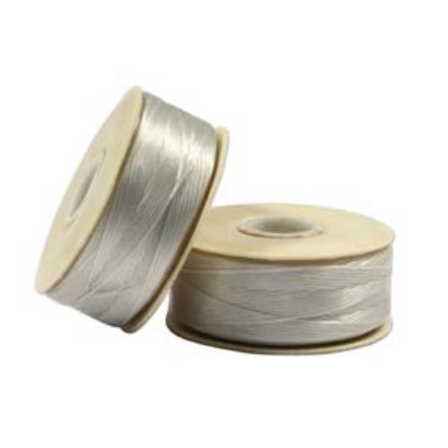 Nymo Beading Thread Sterling, B, 72 yds