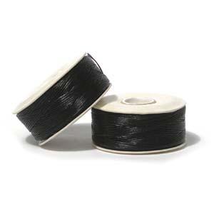 Nymo Beading Thread Black, B, 72 yds