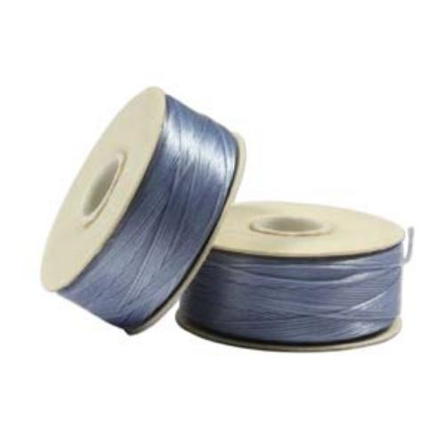 Nymo Beading Thread Cathy Blue, D, 64 yds