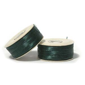Nymo Beading Thread Evergreen, D, 64 yds