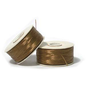 Nymo Beading Thread Golden Yellow, B, 72 yds