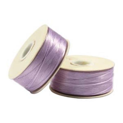 Nymo Beading Thread Lilac, D, 64 yds