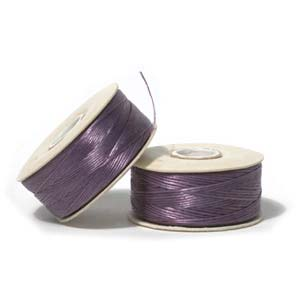 Nymo Beading Thread Light Purple, D, 64 yds