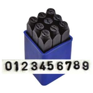 Sans Serif Number 10mm 3/8 Stamping Set - ImpressArt